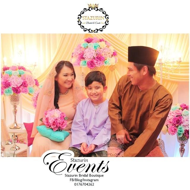 Majlis Pertunangan Aktor Kacak Zul Huzaimy dan Gadis Cantik Erna 10 Disember 2014