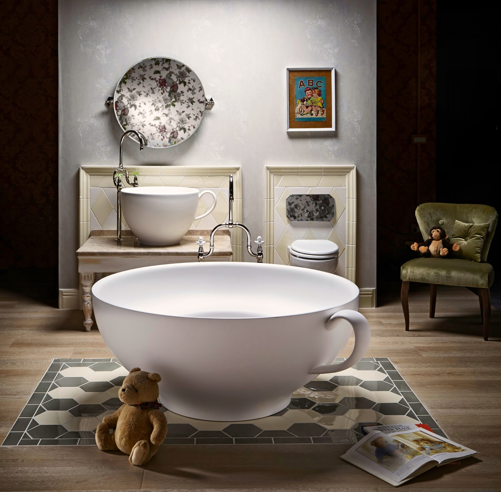 Avocado Bathroom Suite Kbculture March 2015
