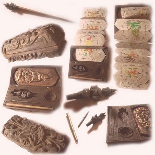 Αρχαίο σετ από βελόνες της ταϊλάνδης