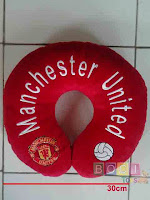 Bantal Leher Manchester United