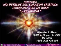 ACTIVACION 12 PETALOS DEL CORAZON CRISTICO