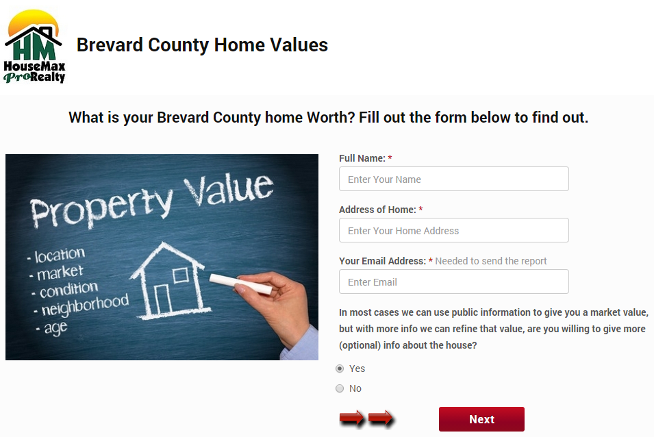 Find Brevard County House Values