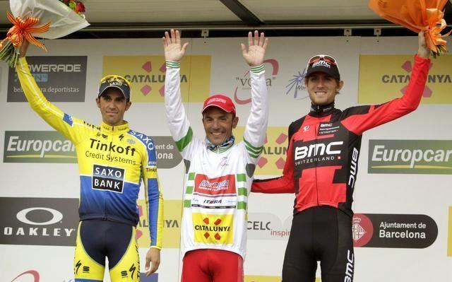 Joaquim Rodríguez fue el mejor de la Volta