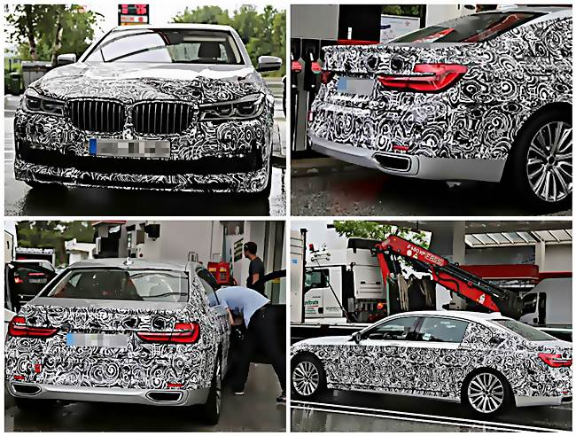 2017 Alpina B7 Spy Shots