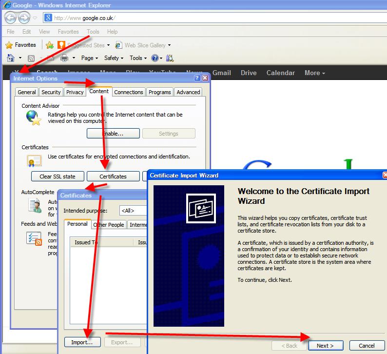 Loadrunner Client Side Certificates For Vugen Technology Tree