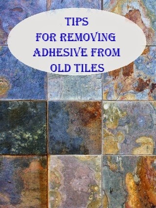 Tips For Removing Adhesive From Old Tiles