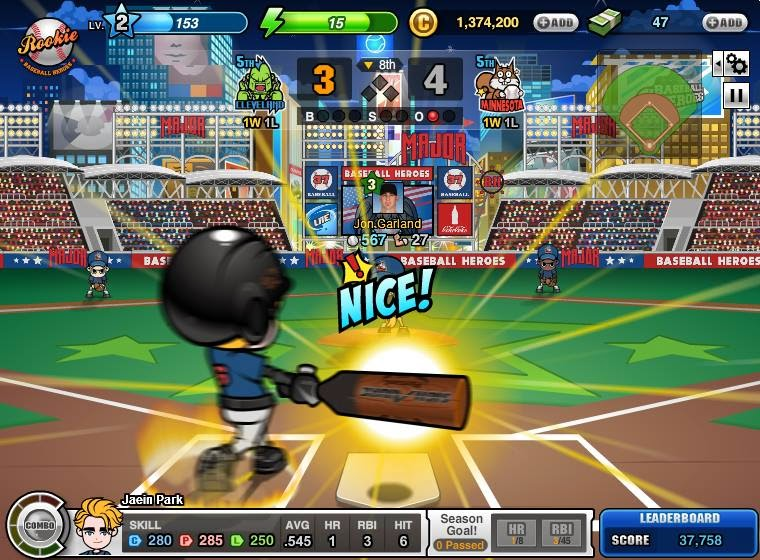 Baseball+Heroes+MLBPA+Hack+Max+Combo+Home+Run+and+Auto+Swing