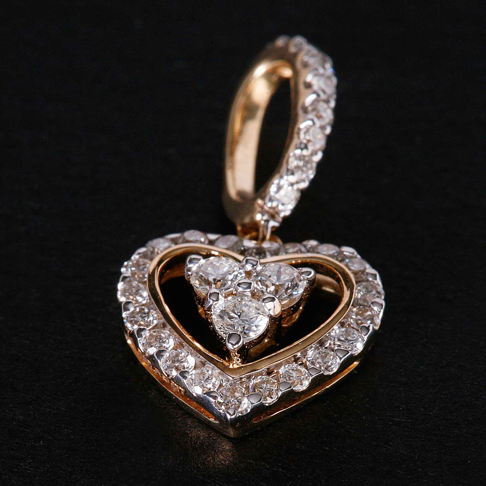 PC Jeweller Diamond Pendants