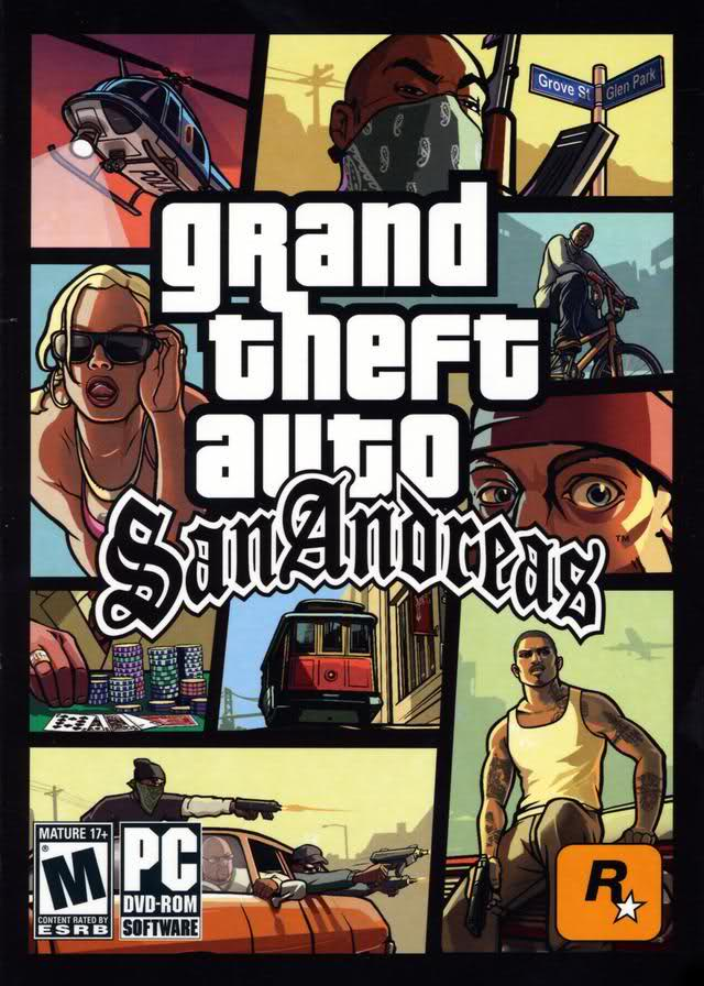 GTA San Andreas Game Poster | GTA San Andreas Game Cover