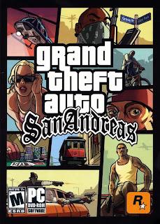 GTA San Andreas Game Poster | GTA San Andreas Game Cover