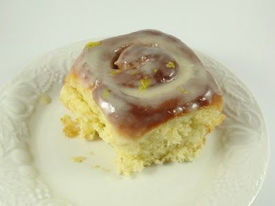 sticky lemon roll