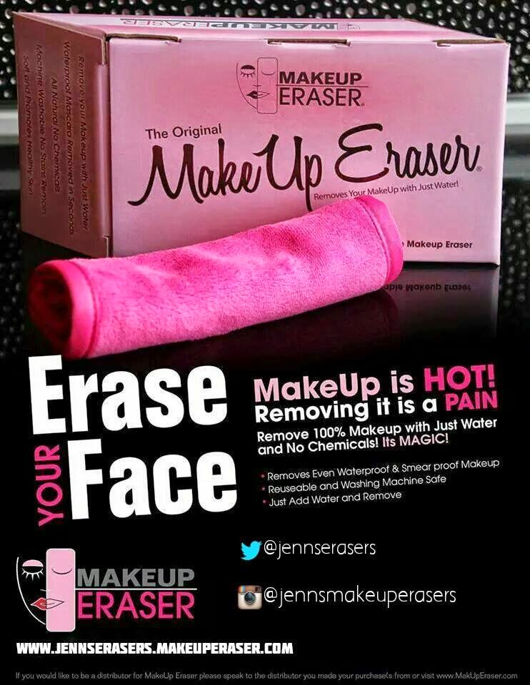 the makeup eraser is an all natural method of your removing makeup no ...