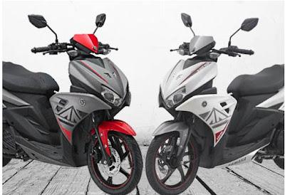 Harga Yamaha Aerox 125 LC, spesifikasi Yamaha Aerox 125 LC