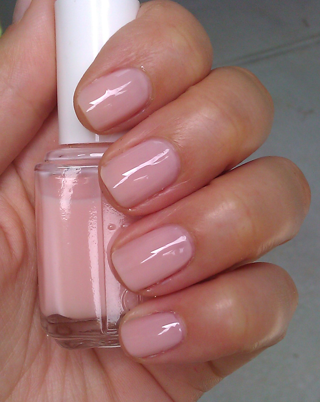 Polish or Perish: Pink Glazed - Essie Mini How High