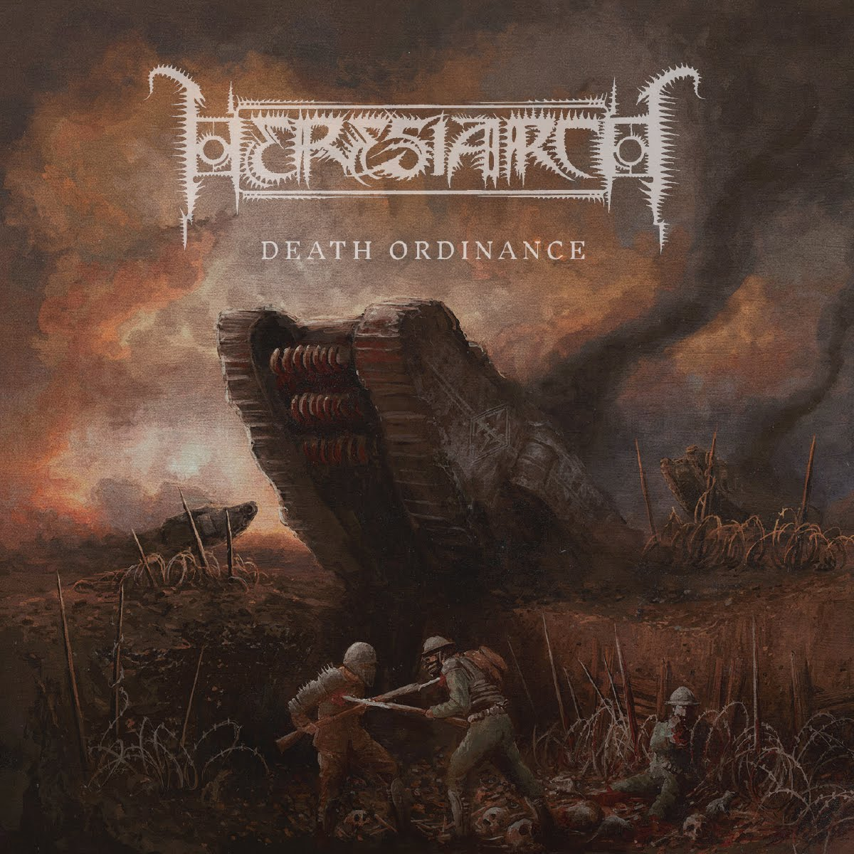 Heresiarch - Death Ordinance Review and Full Album Stream.