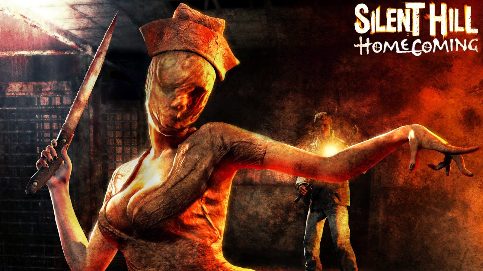 Game Silen Hill : Homecoming Full Version logo cover by www.kontes-seo-news.blogspot.com