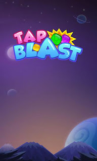Screenshots of the Tap blast for Android tablet, phone.