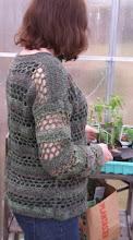 Hagegrønn genser