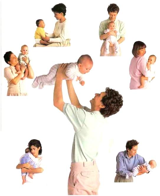 كيف تلاعبين طفلتك صاحبة 3-8 أشهر (اللعب الجسدي والحمل اليدوي)
