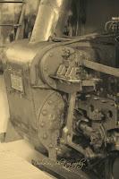 Písty parního ústrojí lokomotivy