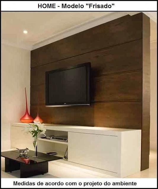 Sala Com Painel Pra Tv ~ Painel para sala de T