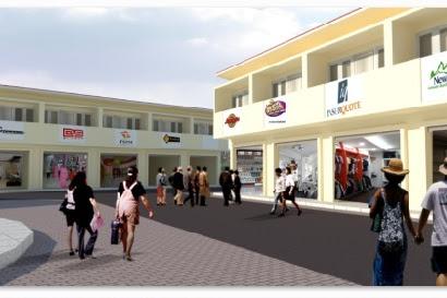 Jasa gambar desain Exterior Interior Ruko, Pasar, Swalayan
