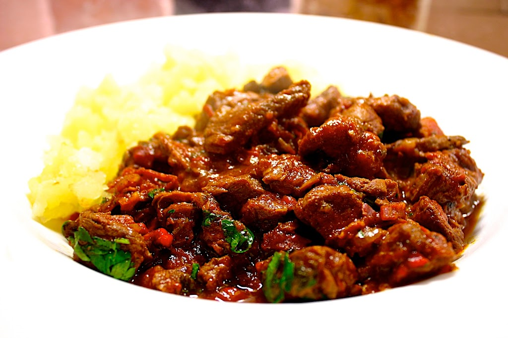 Living in the Ice Age: Venison & Beef Goulash