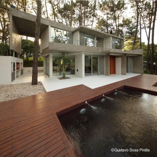 Casa contemporánea en Cariló, Argentina