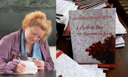 """Lançamento do livro """"À Flor da Pele dos Sentidos da Alma"""""""