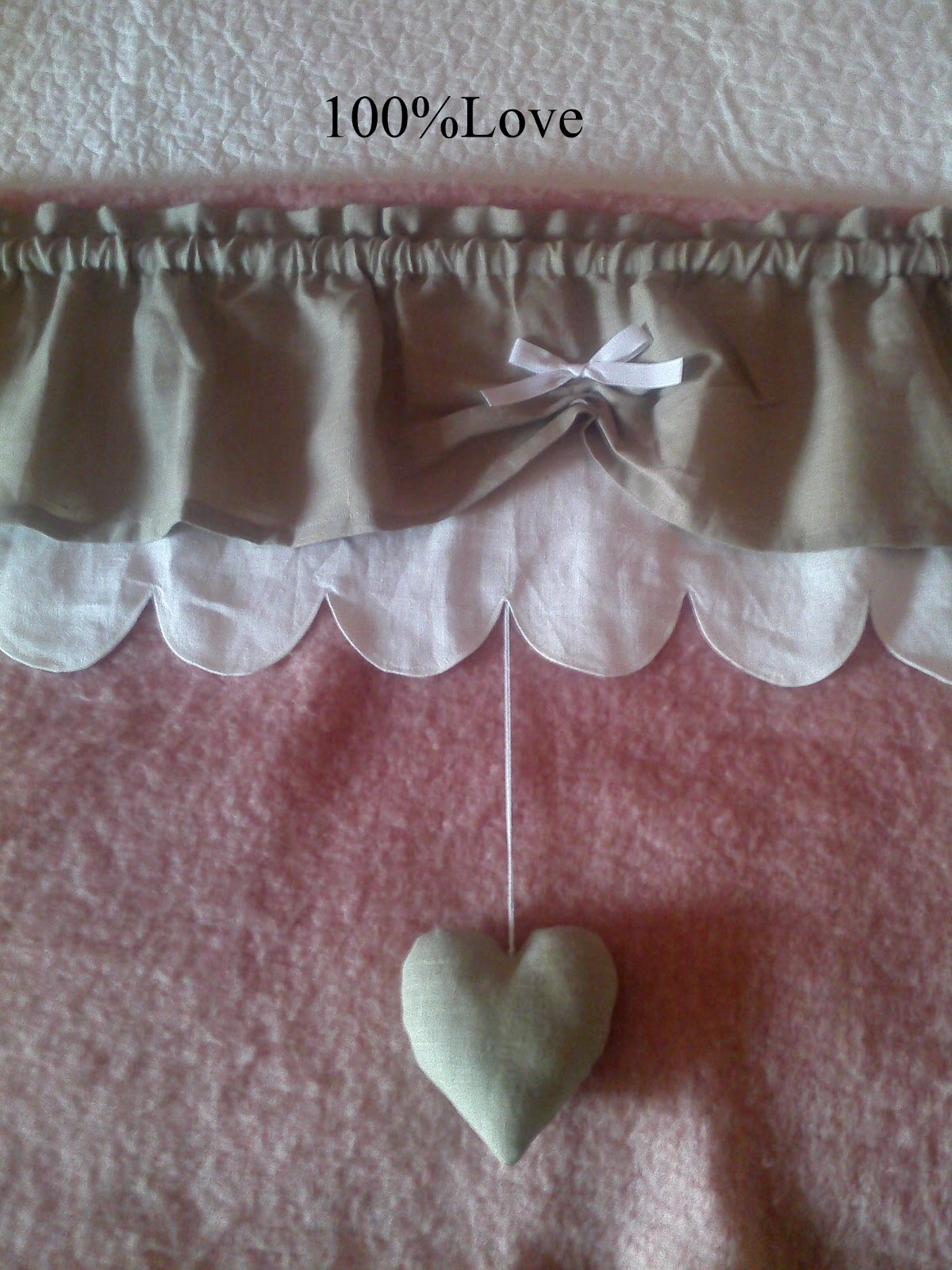 100%LOVE: Tende Country shabby