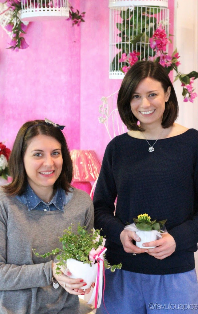 Damigella Chicca e La Weddy da Viridea per il corso sulle bomboniere handmade
