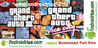 Download 2 Top Android Game GTA 3 + GTA Vice City