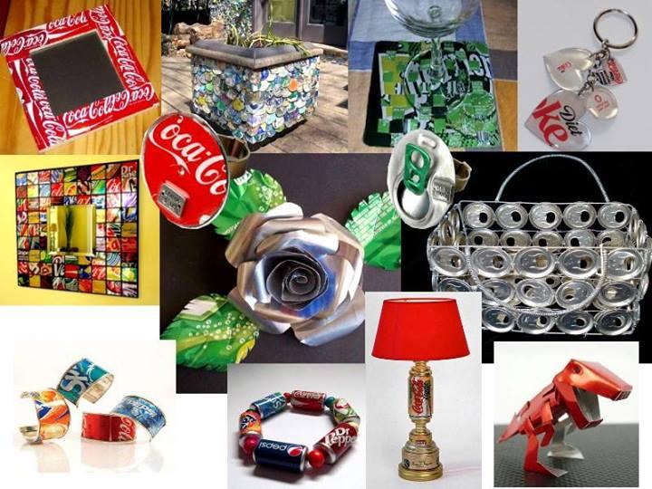 Construccion y manualidades hazlo tu mismo agosto 2013 - Reciclar latas de refresco ...