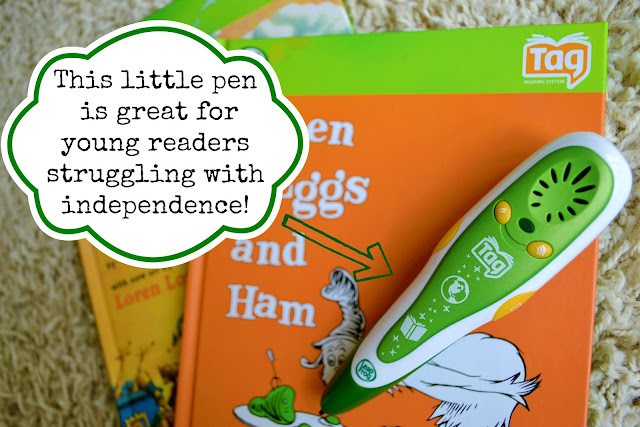 LeapFrog Reading Month Pledge, LeapFrog Tag Giveaway, LeapFrog Tag Green Eggs Ham, #LFReadingMonth,