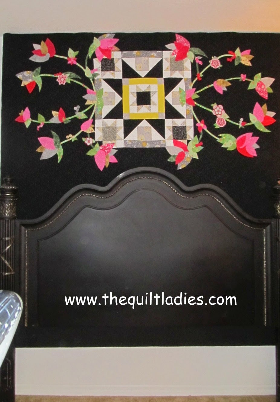 Wall Quilt on a Frame