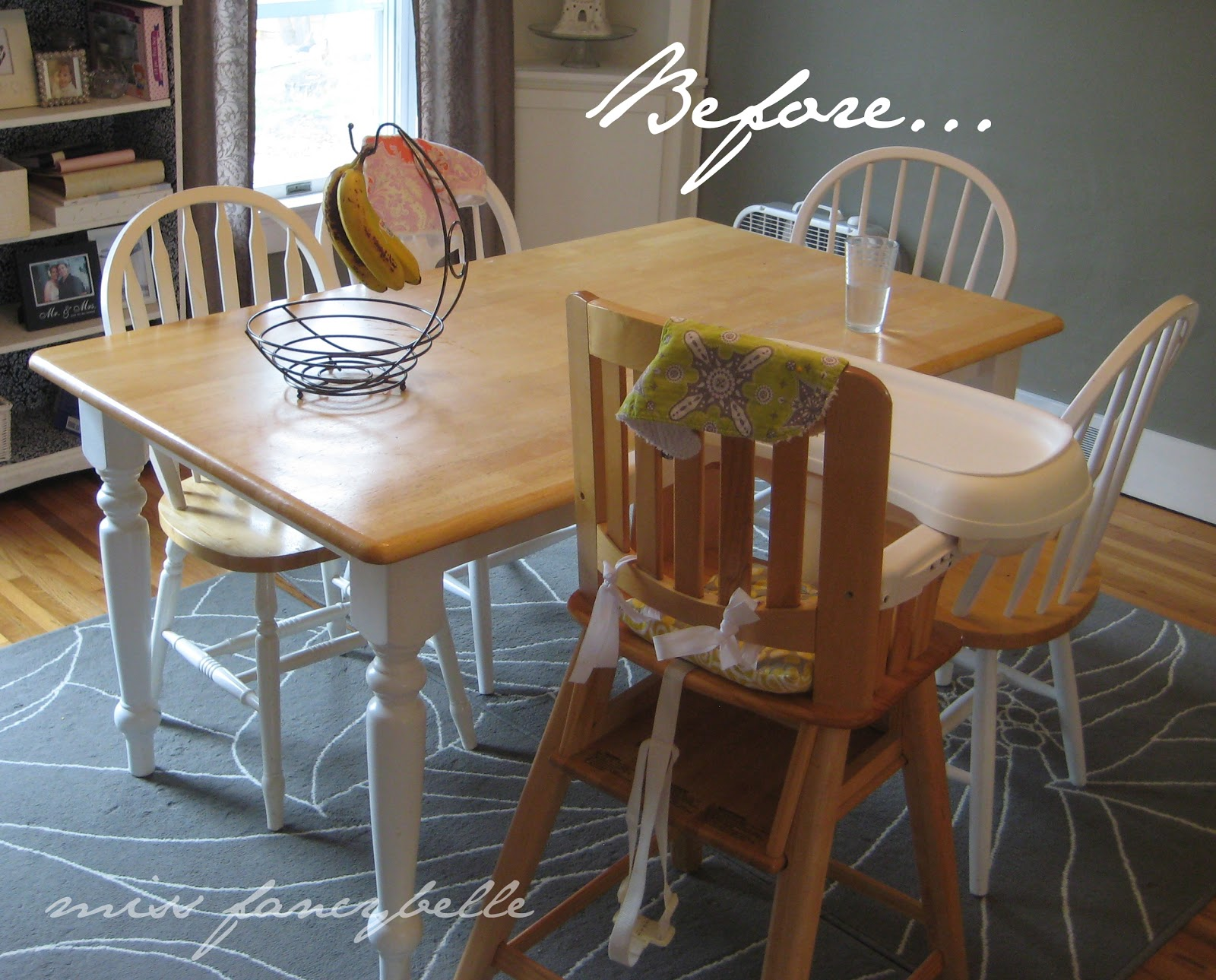 Miss fancybelle our dining table makeover for Dining room table makeover ideas
