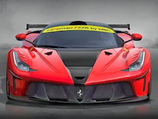 Ferrari LaFerrari DMC FXXR 3