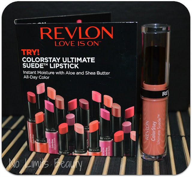 Revlon ColorStay Ultimate Suede Lipstick in 040 Flashing Lights