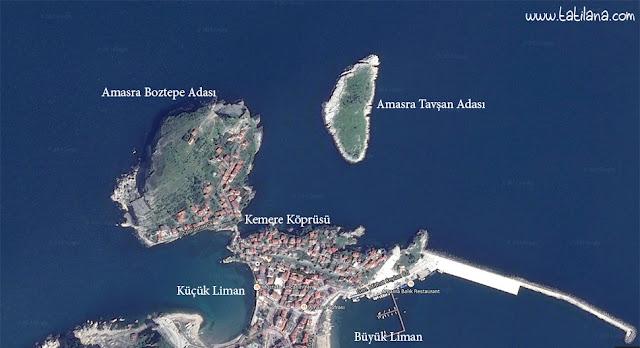 Amasra Haritası