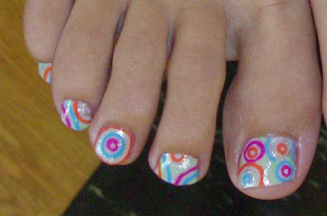cute toenail designs: Getting Pretty Toe Nail Designs   Nails Ideas