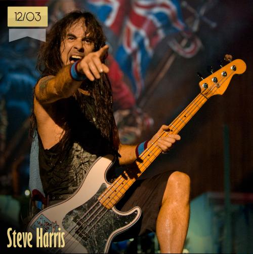 12 de marzo | Steve Harris - @IronMaiden | Info + vídeos