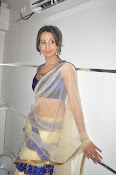 Sanjjana Latest Glam pics in saree-thumbnail-2
