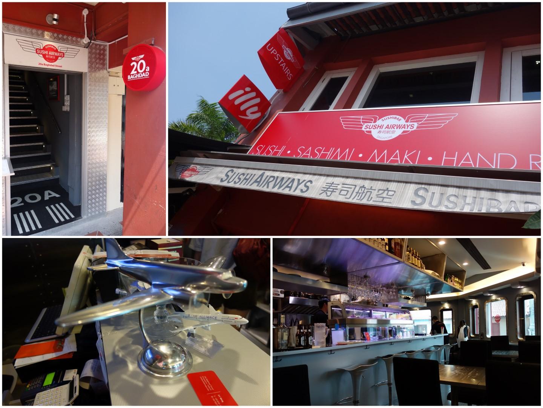 Sushi airways lunch menu fun hideout - Thai airways dubai office ...
