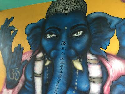 Reykjavik Mural Ganesh