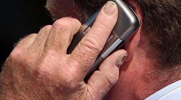 Peligro sobre el uso de celulares