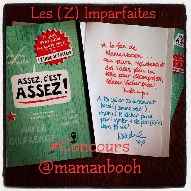 concours Les (Z)Imparfaites Julie Philippon @mamanbooh