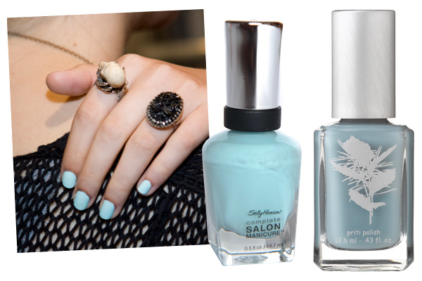 Blue Nail Polish Colors