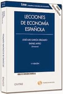 Librería Cilsa: Lecciones de Economía Española. Manuales Económicas y Empresariales.