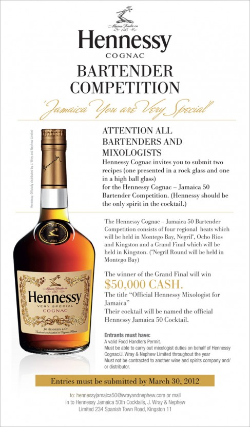 hennessy mixology competition copy1%5B1%5D jamaican living memoir special hennessy cognac for jamaica 50