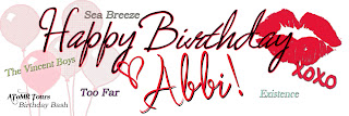 HAPPY BIRTHDAY ABBI GLINES!